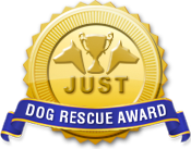 Just Dog Rescue Award Medal