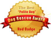 Red Badge Dog Rescue Medal